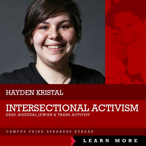 Hayden Krystal, speaker
