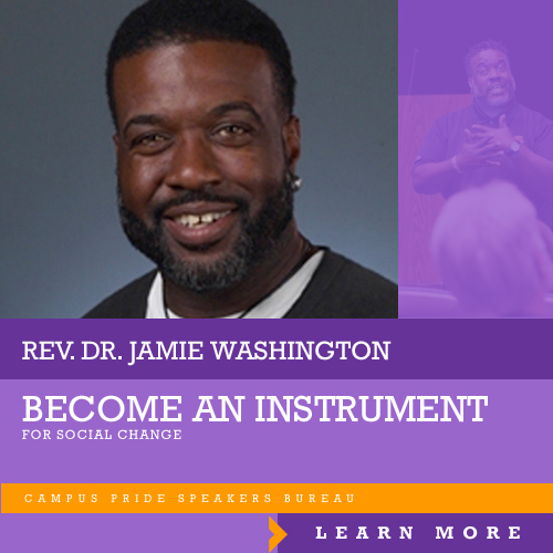Jamie Washington, speaker