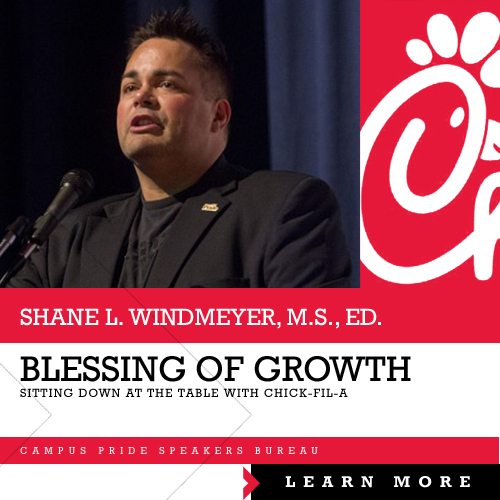 Shane Windmeyer, speaker